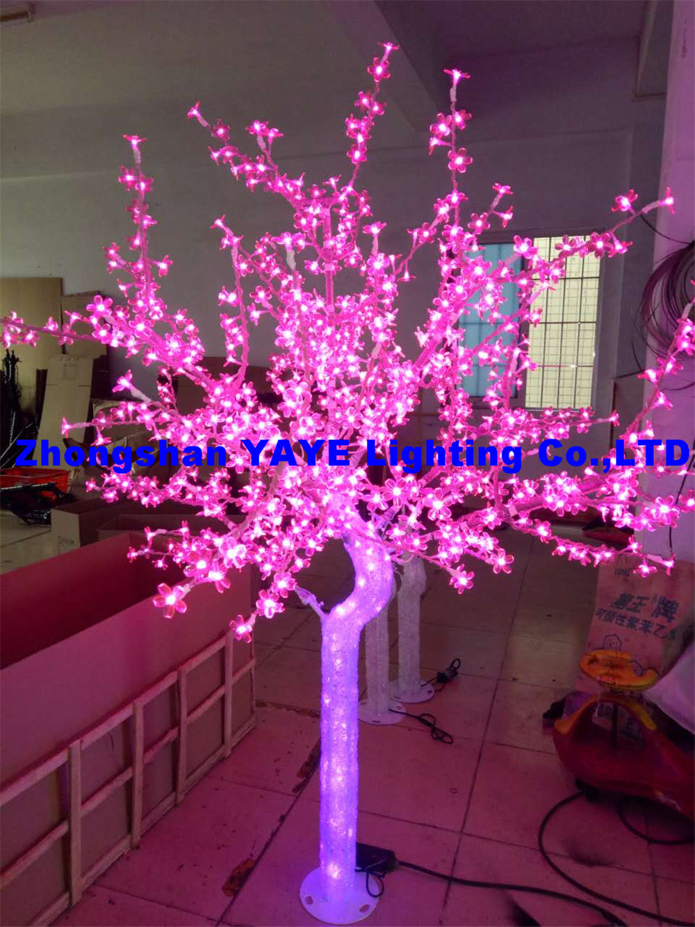China Yaye 18 Ce Rohs 2 Years Warranty Abs Outdoor Led Tree Light Led Christmas Tree Light Pink Led Tree Lights China Abs Led Tree Lights Ce Led Tree Lights