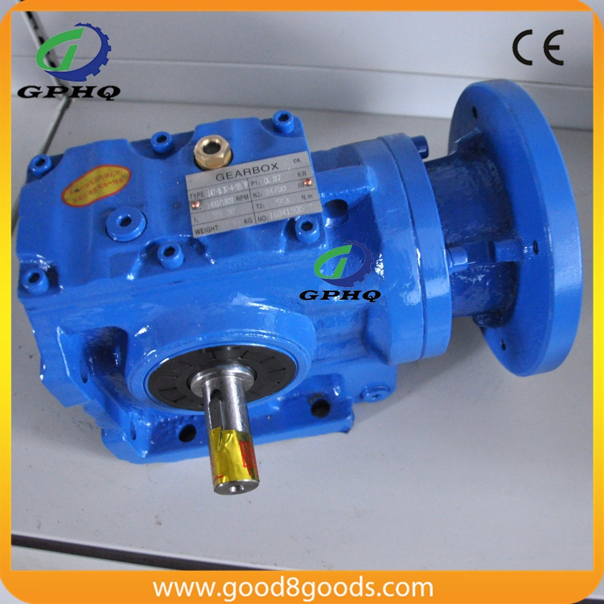 Worm Helical Right Angle Geared Motor