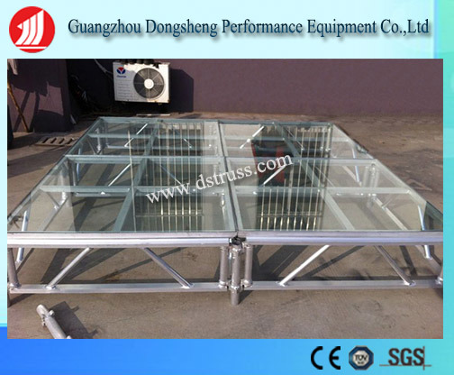 High Grade Assemble Stage Aluminum Alloy Glass Stage pictures & photos