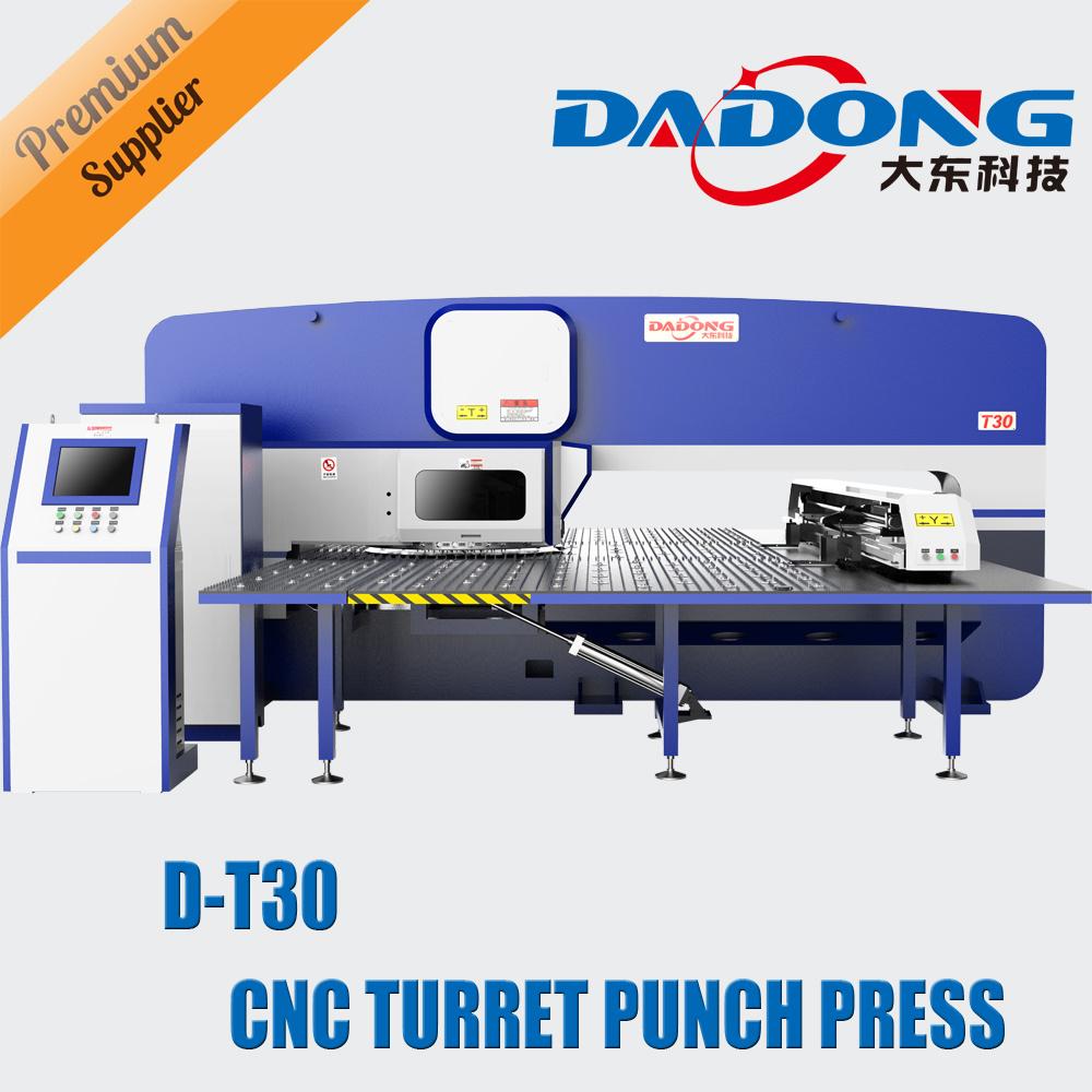 [Hot Item] Mechanical Fanuc/Rexroth CNC Turret Punching Machine/CNC Punch  Press D-T30