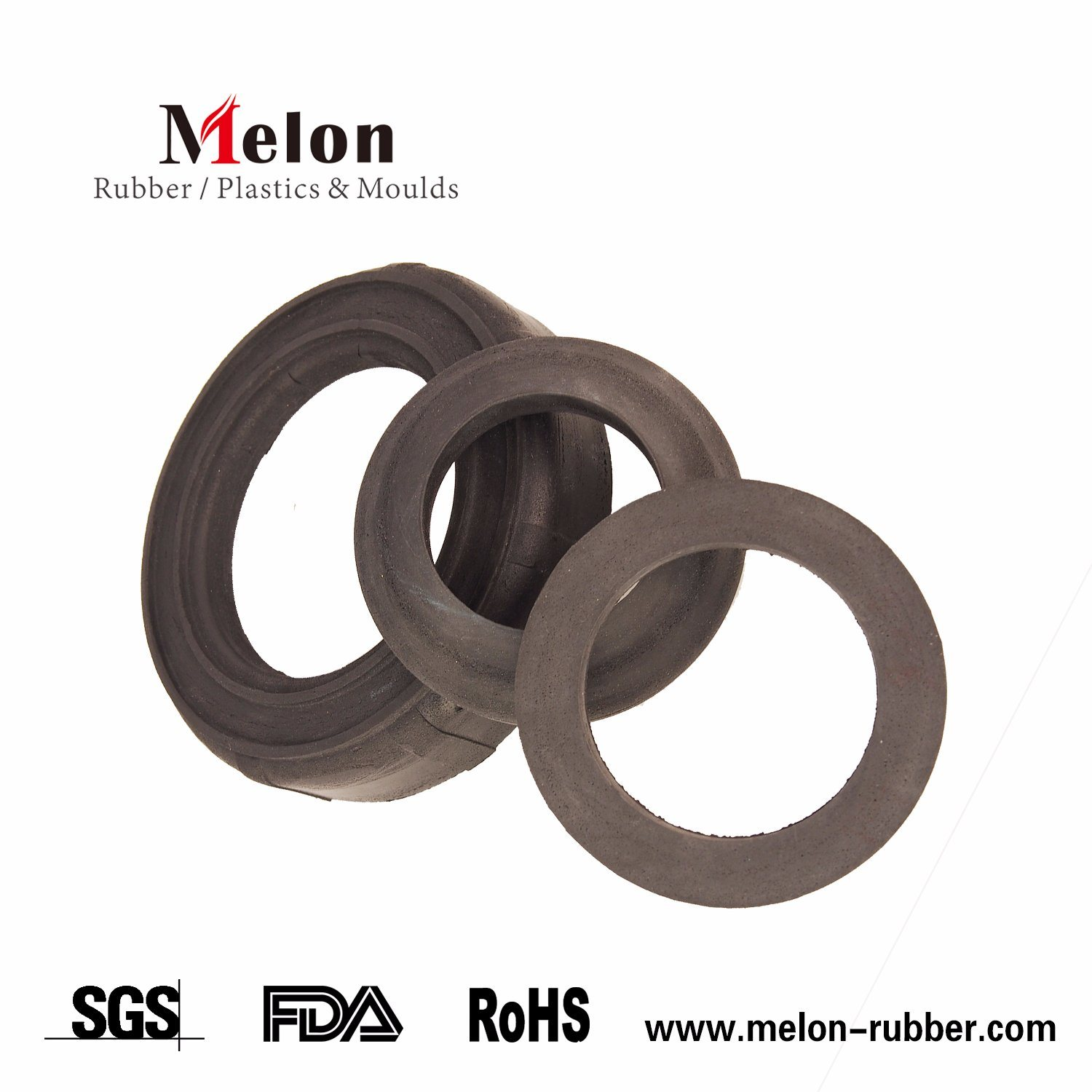 China Flat O Ring Washers with High Quality - China Flat Rubber ...
