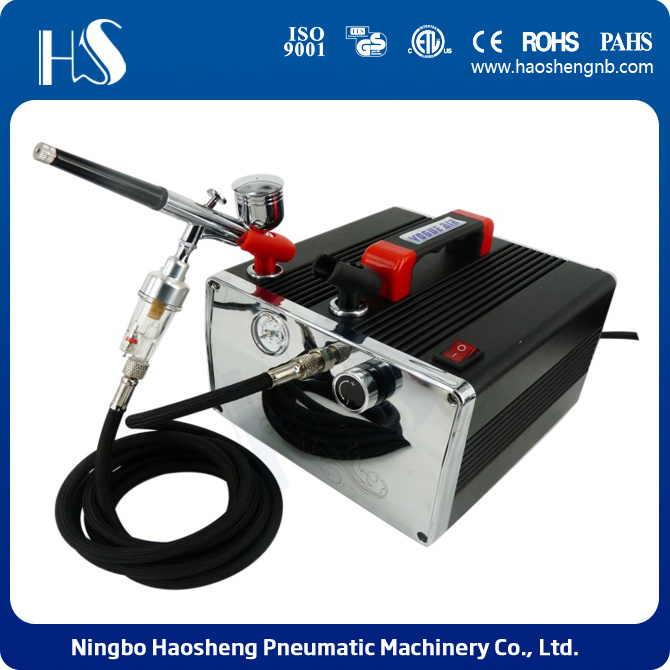 china portable air compressor mini air compressor spray gun supplier ningbo haosheng pneumatic machinery co ltd