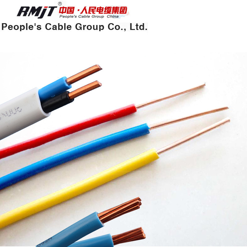 China Fire Resistance Copper Conductor PVC Insulation Electric Wire ...