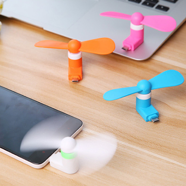 Top Gift Portable Mini USB Fan for iPhone and Android pictures & photos