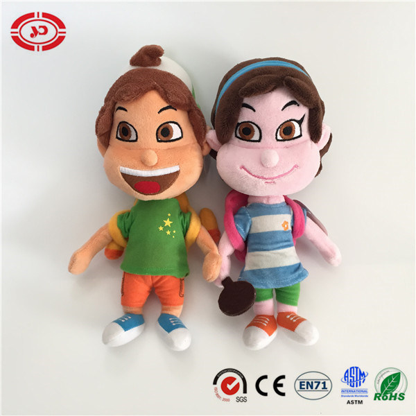 School Kids Embroidered Feature Stuffed Plush Doll Toys pictures & photos