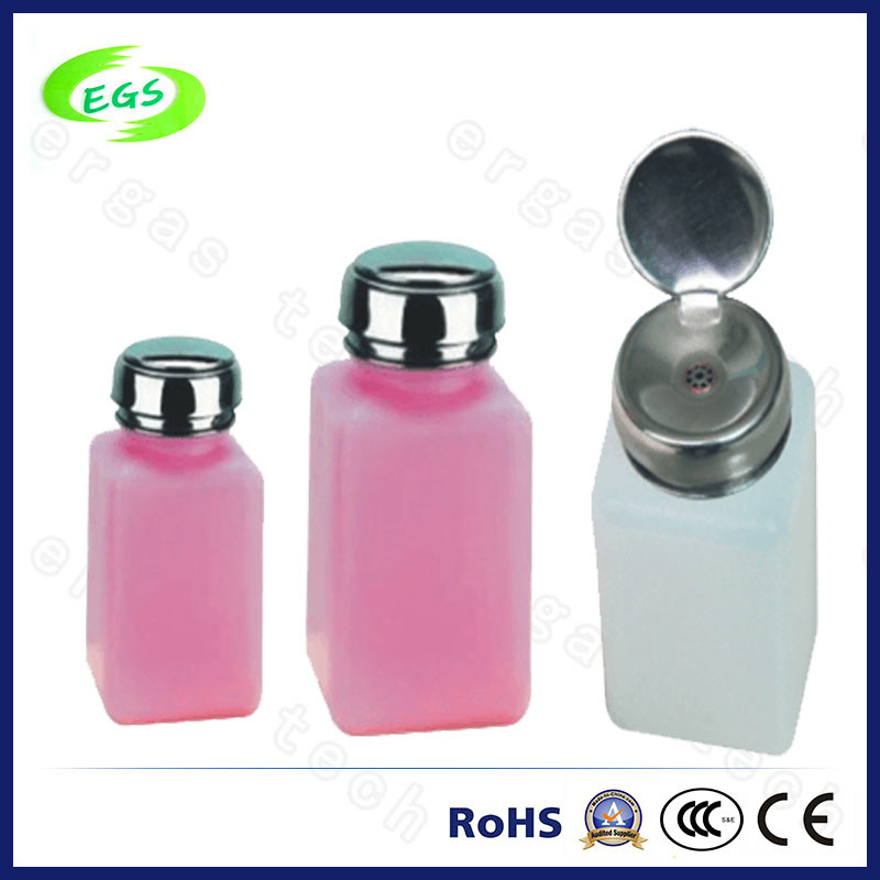 Plastic Liquid Bottle, Solvent Bottle, ESD Alcohol Bottle, Dispenser Bottle (EGS-10)
