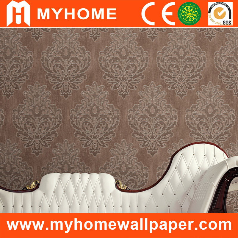 China Paintable Pvc Vinyl Wall Paper With Wallpaper Glue Photos