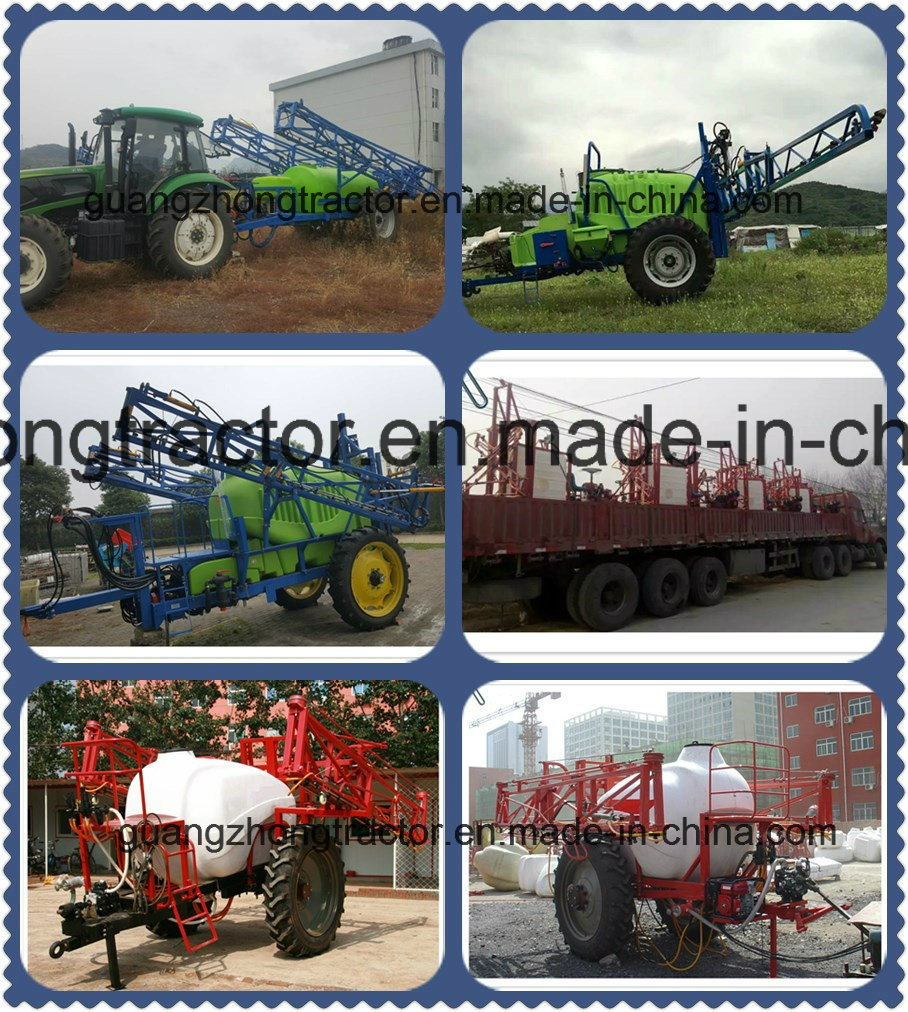 China Hot Selling Trailer Farm Machinery Pesticide Boom Sprayer