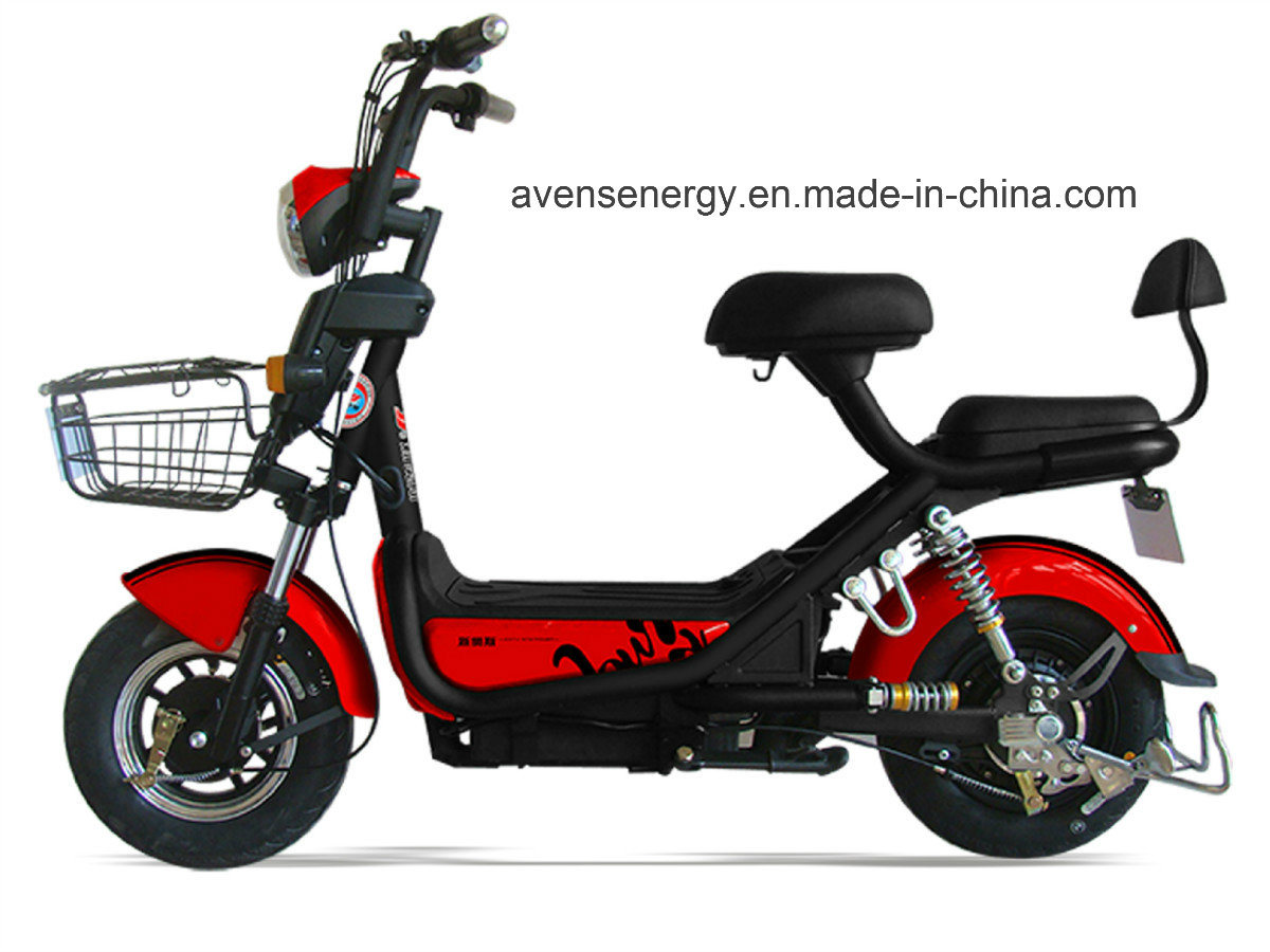 China High Quality Electric Motorcycle Scooter E With Long Mileage Usb Charger Bike