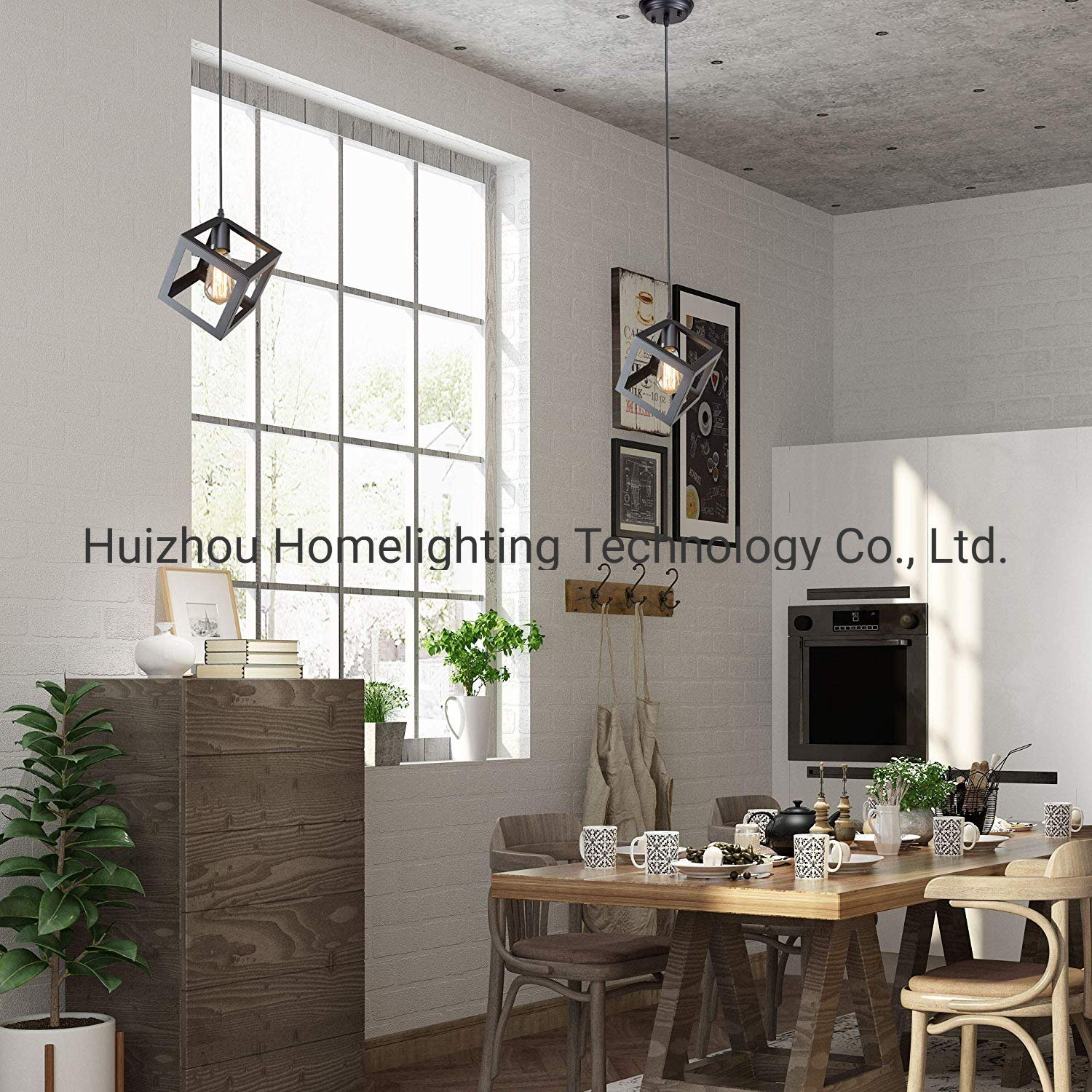 Picture of: China Jlp 2016 Square Pendant Lighting Ceiling Lights Hanging Lamp Light Fixtures For Living Room Dining Room Kitchen Island Photos Pictures Made In China Com
