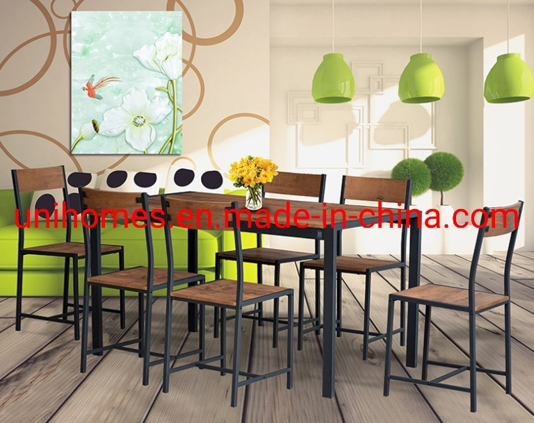 China Dining Table Furniture Set 6, 6 Person Dining Room Table And Chairs