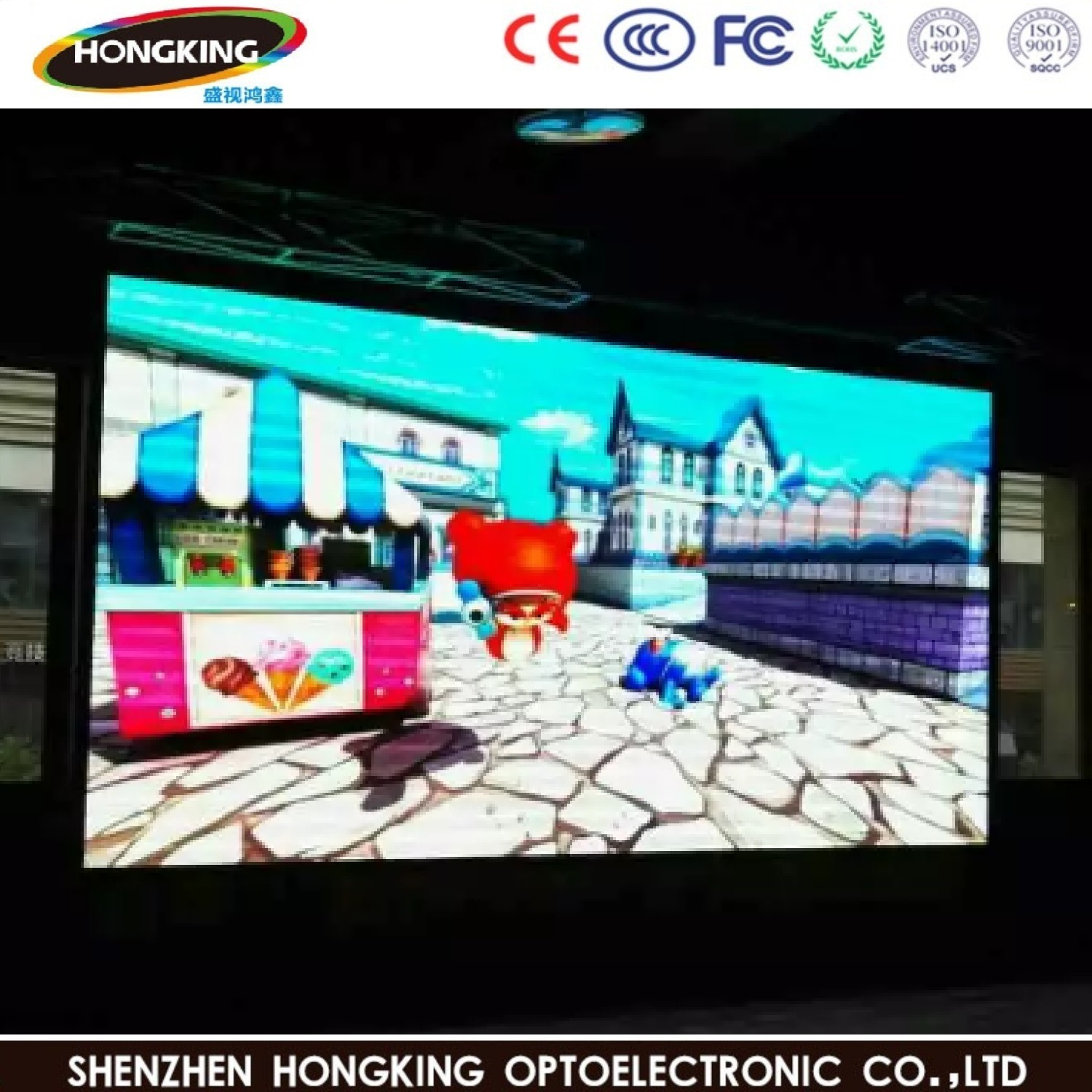 [Hot Item] High Definition Factory Price P2 5 Indoor LED Panel Big  Advertising LED Display Screen