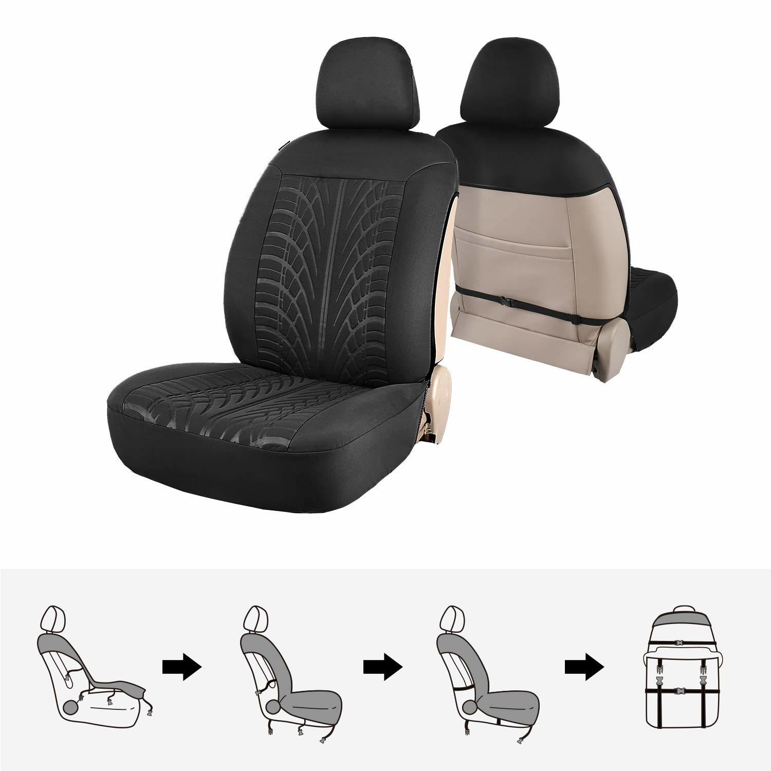 Wondrous China Leather Black Auto Sideless Seat Covers Full Set Andrewgaddart Wooden Chair Designs For Living Room Andrewgaddartcom
