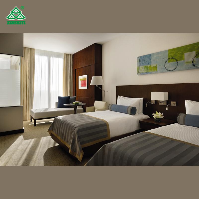 [Hot Item] Modern Bedroom Furniture Luxury Hotel Bedroom Furniture Sets  Twin Bed Bedroom Furniture