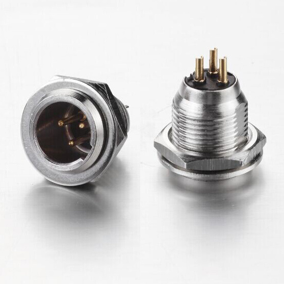 China Mini Xlr Male Plug Connector Xlr 3 Pin Male Chassis