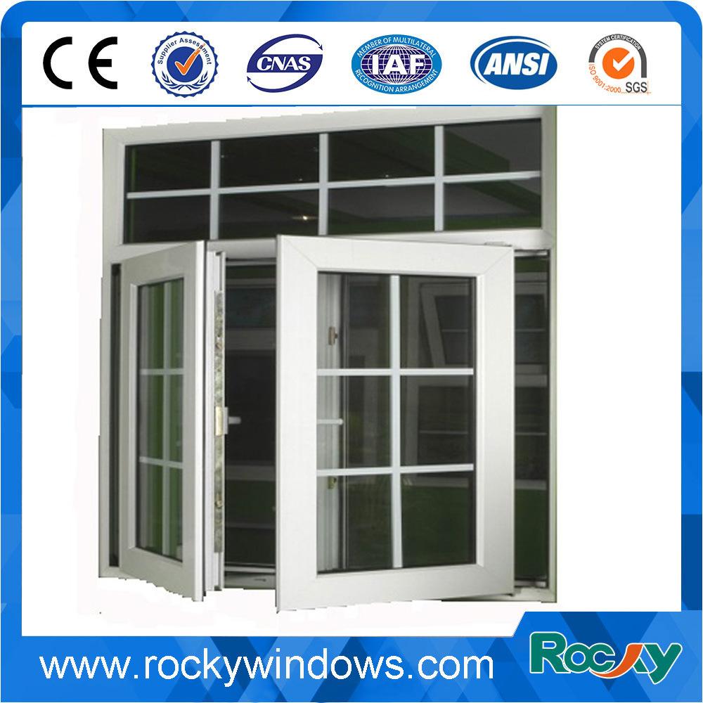 China Modern Window Grill Design Aluminum Casement Photos