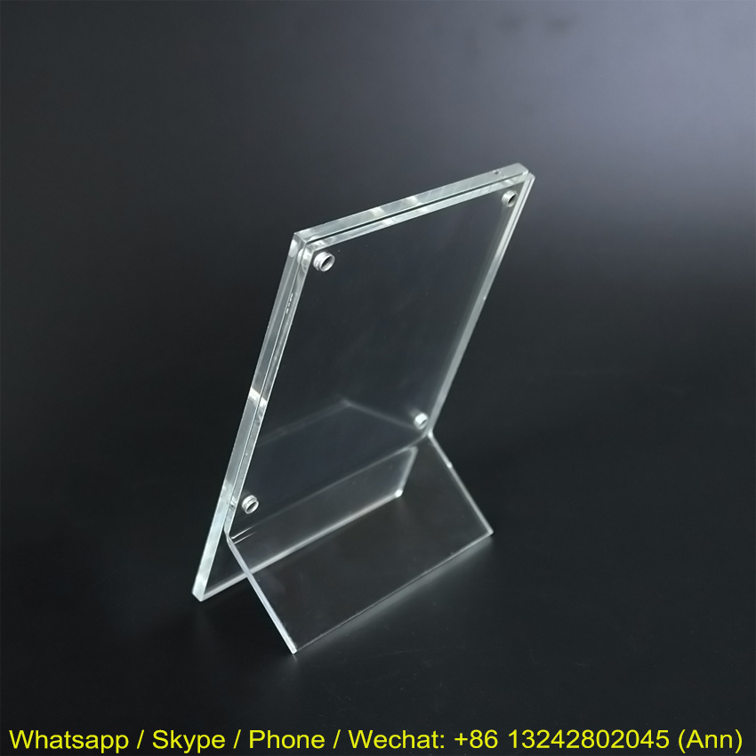 Clear Acrylic Picture Photo Frame, Wholesale Custom Acrylic Photo Frame pictures & photos