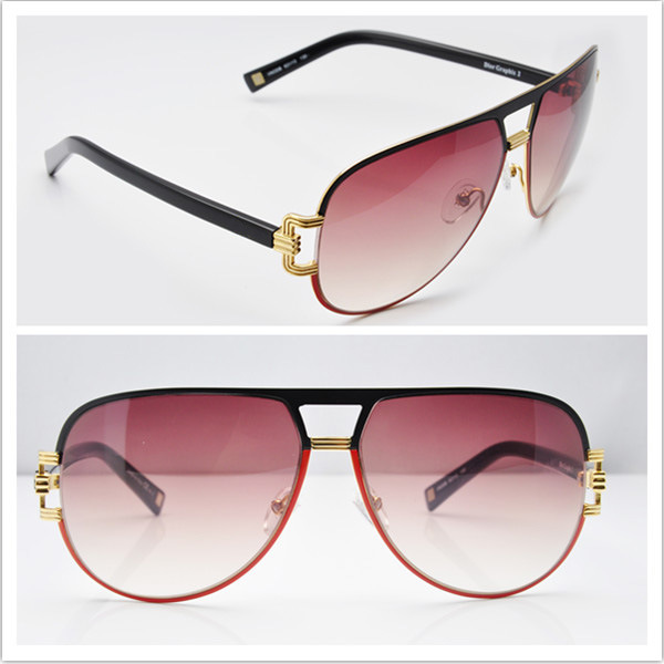 Brand Name Sunglasses/ 2013 Fashion Ladies Spectacles Frame CD Graphix2 Black Mix Orange Sunglasses