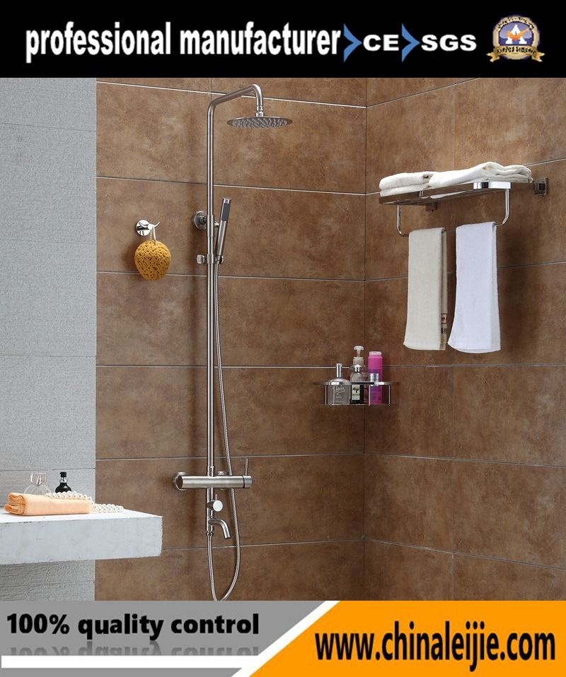China Stainless Steel Waterfall Shower Head Bathroom Rain Shower ...