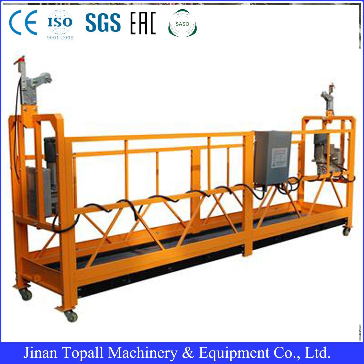 Mobile Work Platform and Zinc Plated Surface Handling Work Platform