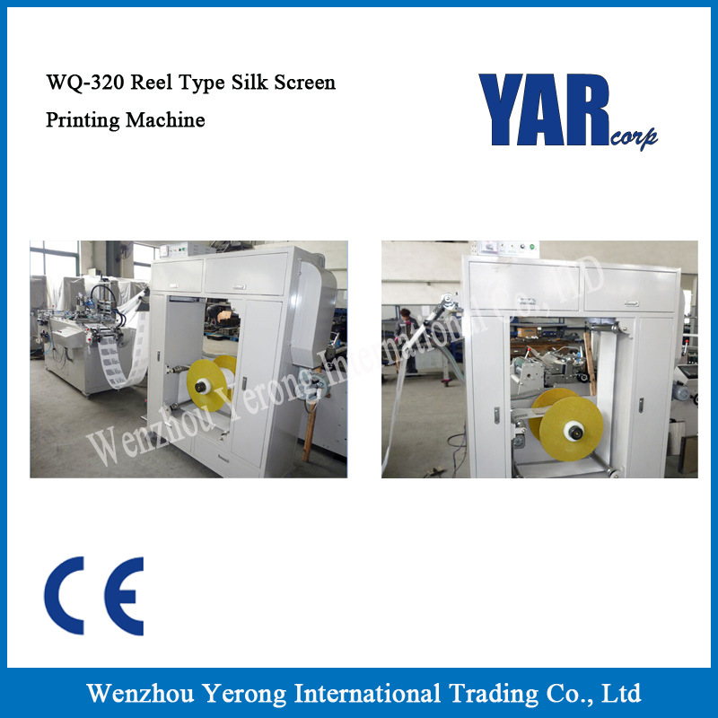 Brand New Wq-320 Reel Type Silk Screen Printing Machine with Ce pictures & photos