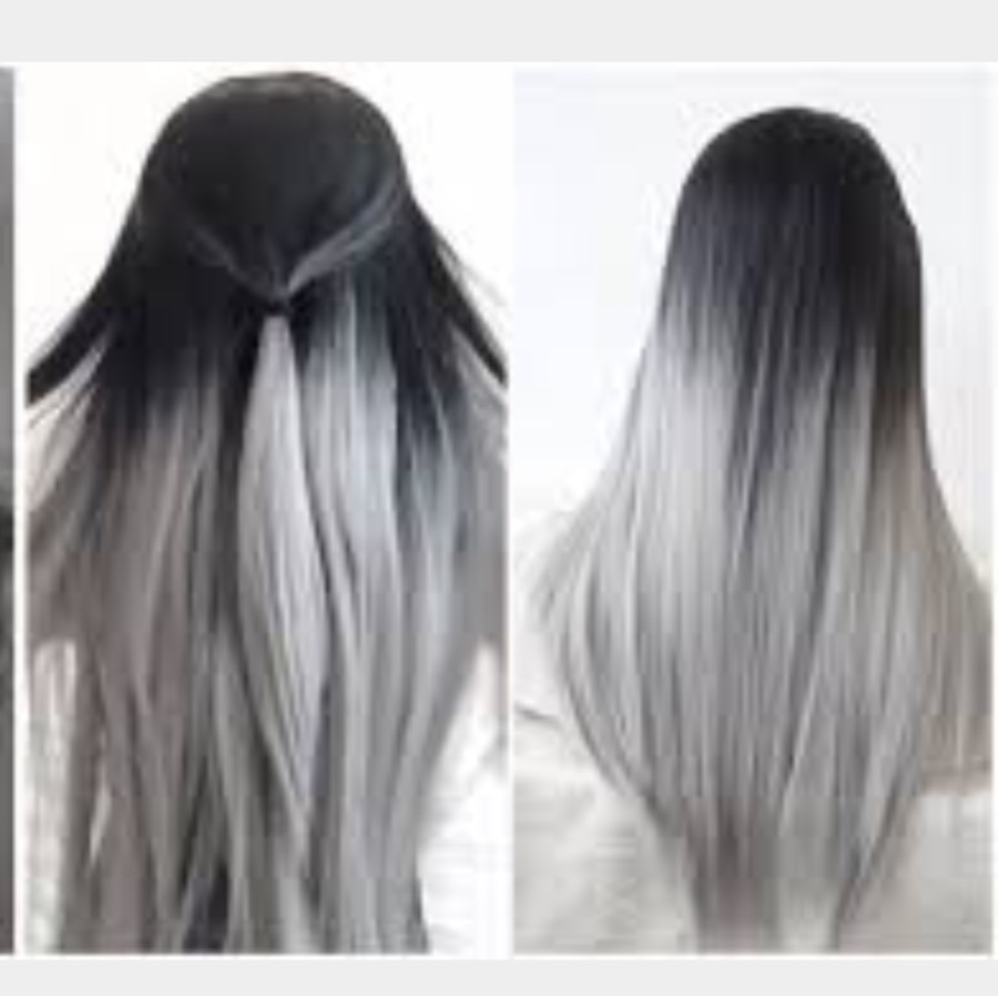 China Grey Hair Weave18 20 22 24 Inch Virgin Straight Hair Weave On