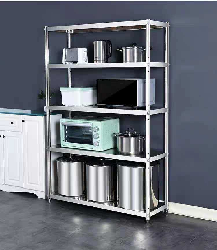 China Stainless Steel Shelves Kitchen Shelves Hotel Flat Domestic Shelves Food Shelves Storage Rack Shelf China Commercial Garage Stainless Steel Store And Kitchen Steel Rack Price