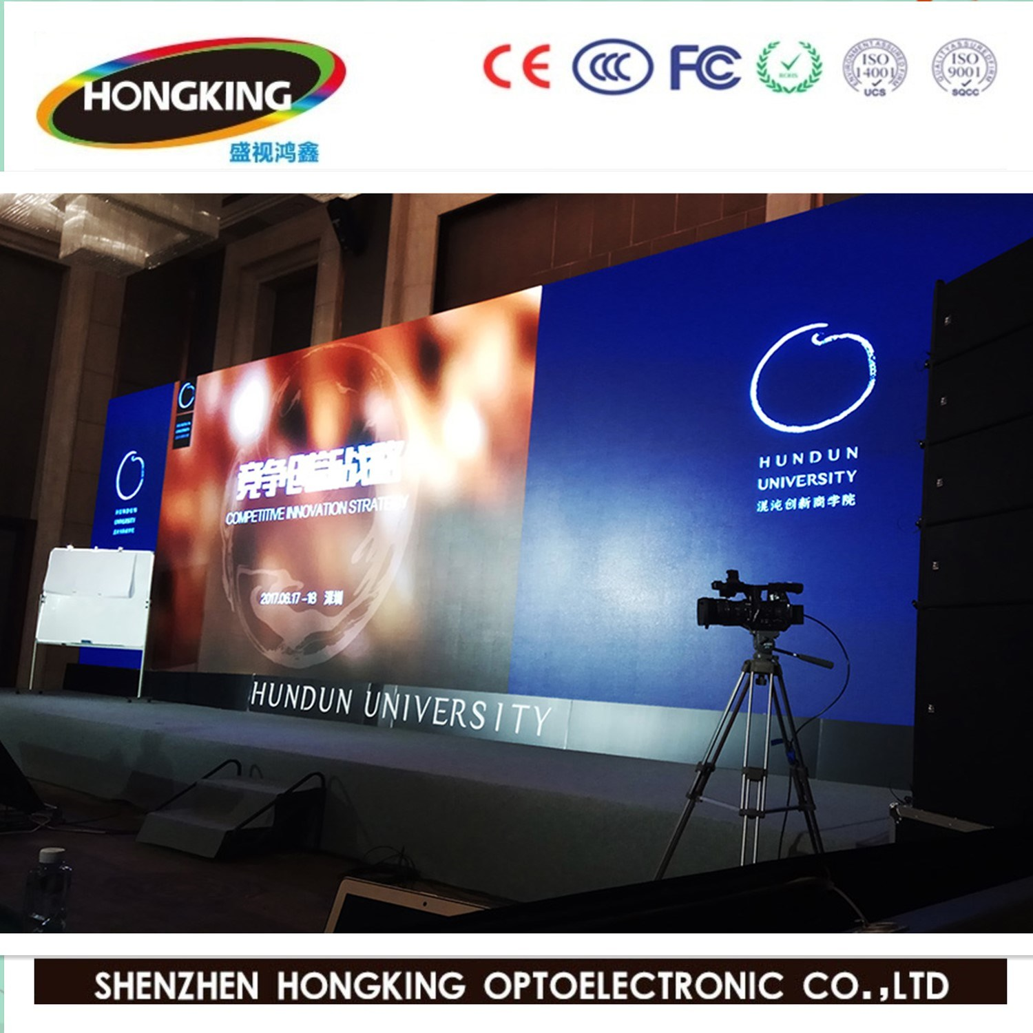 Hot Sale Indoor Outdoor P4.81 Full Color Rental LED Display