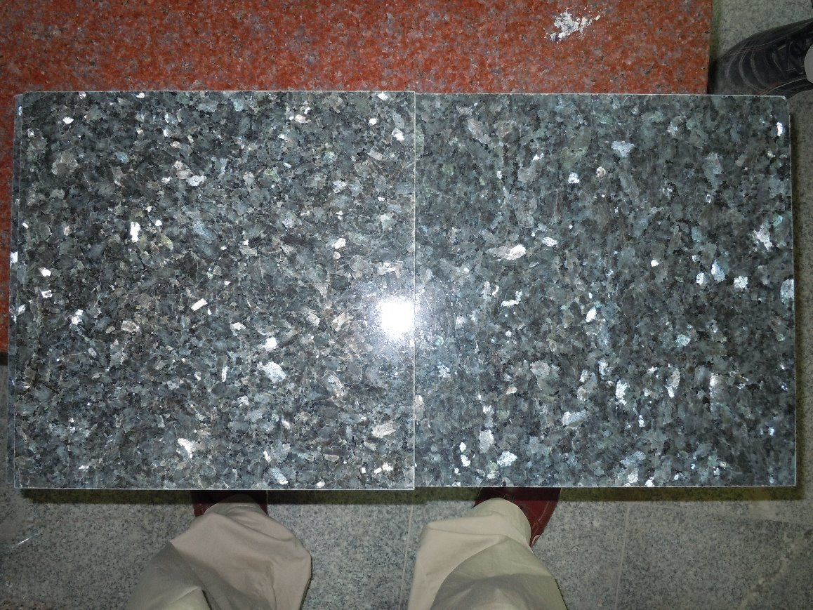 China Blue Pearl Polished Granite Stone /Table/Benchtop/Skirting ...