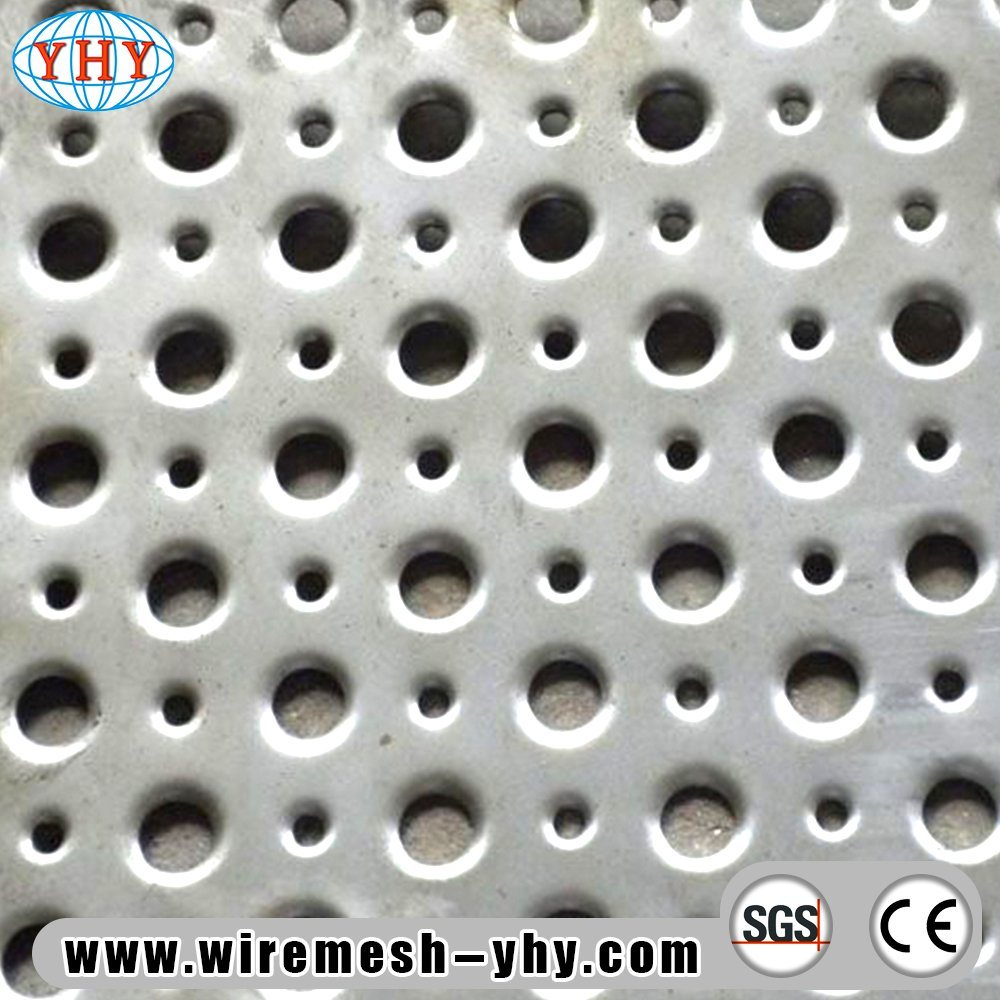 China SS304 Stainless Steel Perforated Metal Wall Penal - China ...