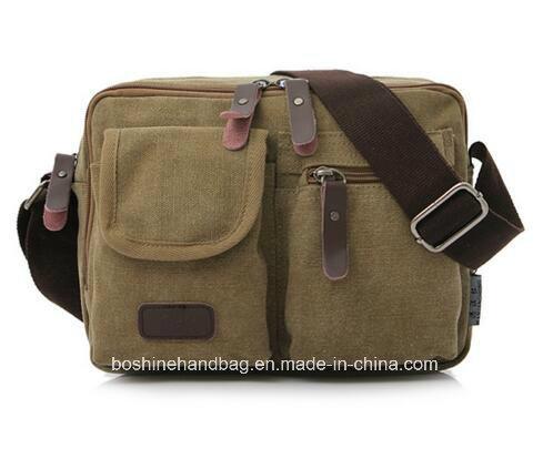 China Men S Vintage Canvas Satchel School Shoulder Bag Messenger Fashionable New Product