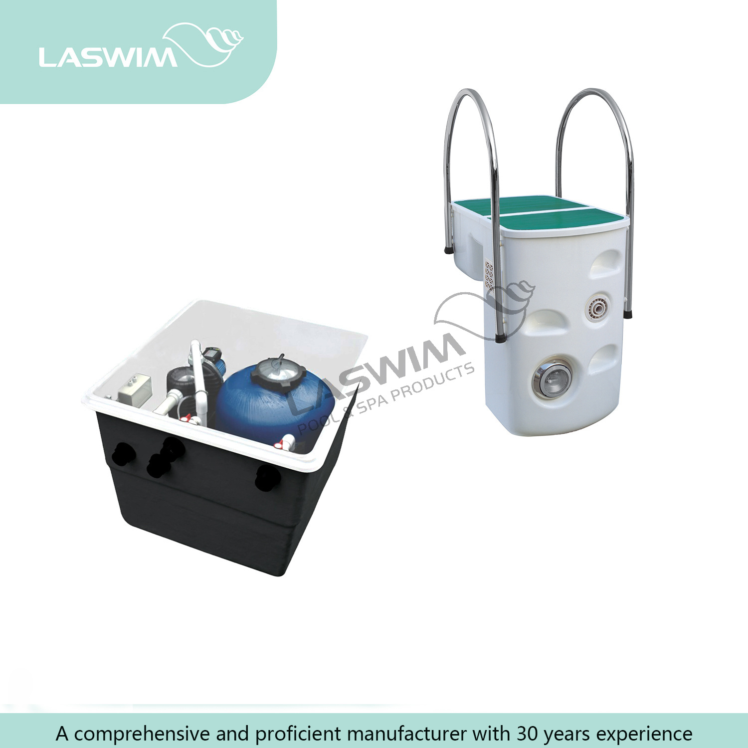 China Endless Swimming Pool Unit Counter Current Flow Photos ...