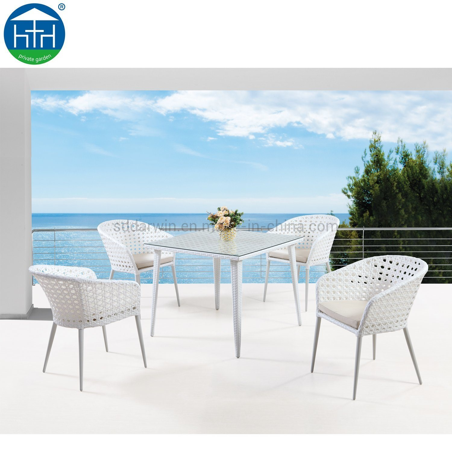 China Durable Garden Rattan Table And Chair Wicker Patio Furniture For  Garden   China Patio Garden Furniture, Outdoor Patio Furniture