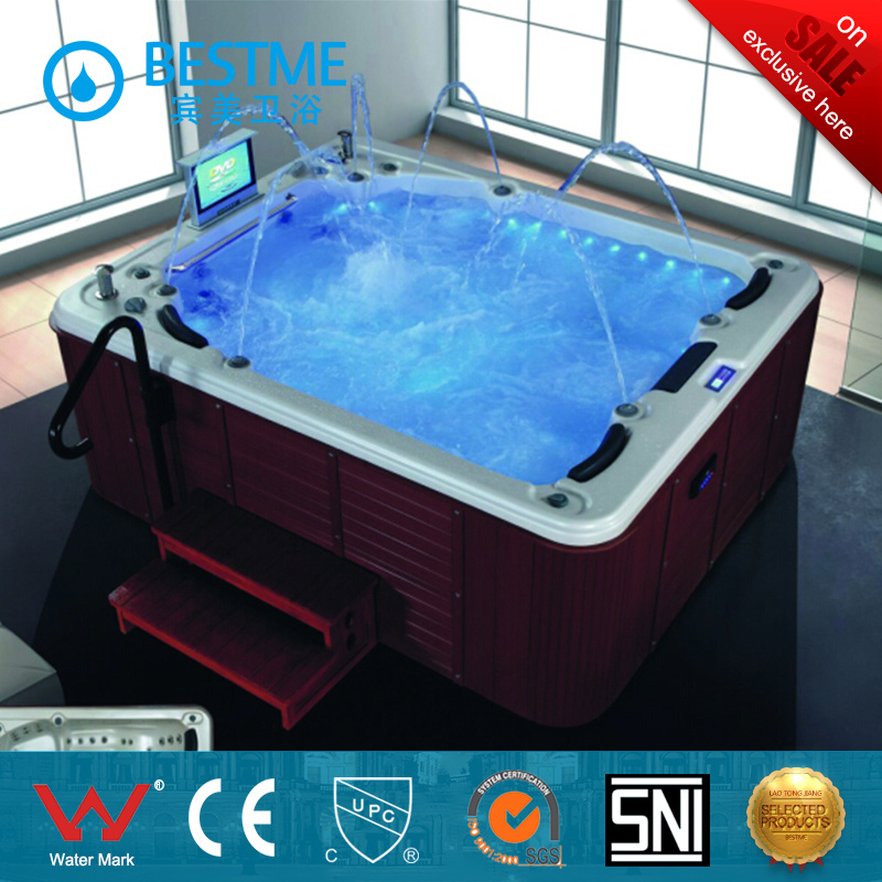 Hot Outdoor SPA Jacuzzi Bathtub From China (BT-1801) - China Jacuzzi ...