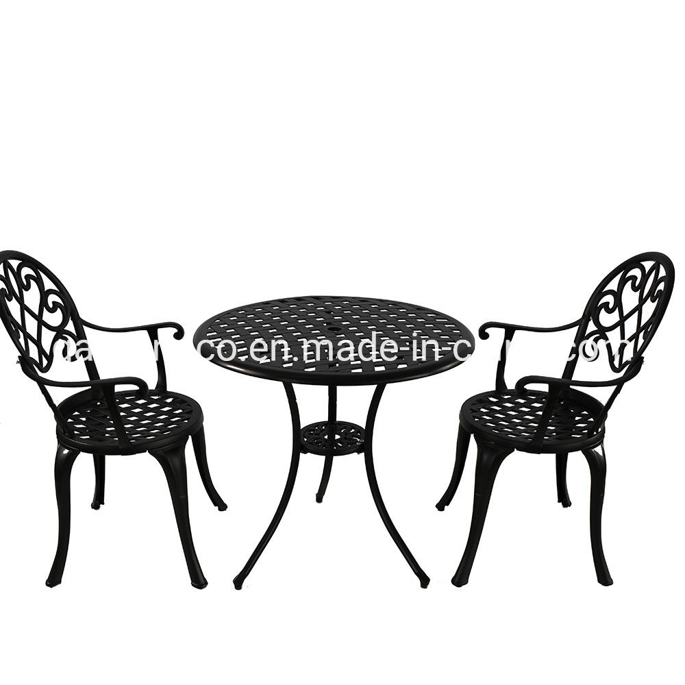 [Hot Item] 9 Seat Cast Aluminium Outdoor Garden Bistro Furniture Set