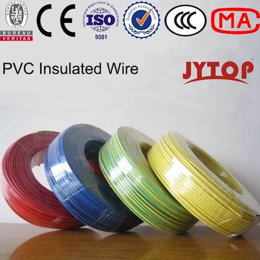 China Bvr Type Copper Conductor PVC Insulated Cable Building Wire ...