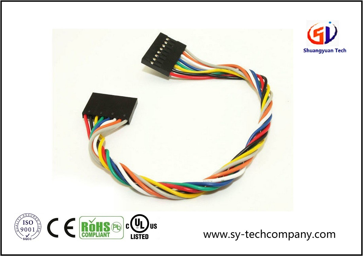 China Wire Harness 8 Pin Jumper Female To Wiring Cable Assembly