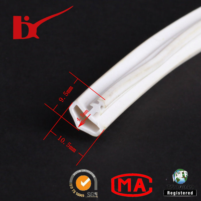 Weatherproof Curtain Wall PVC Rubber Seal Strip