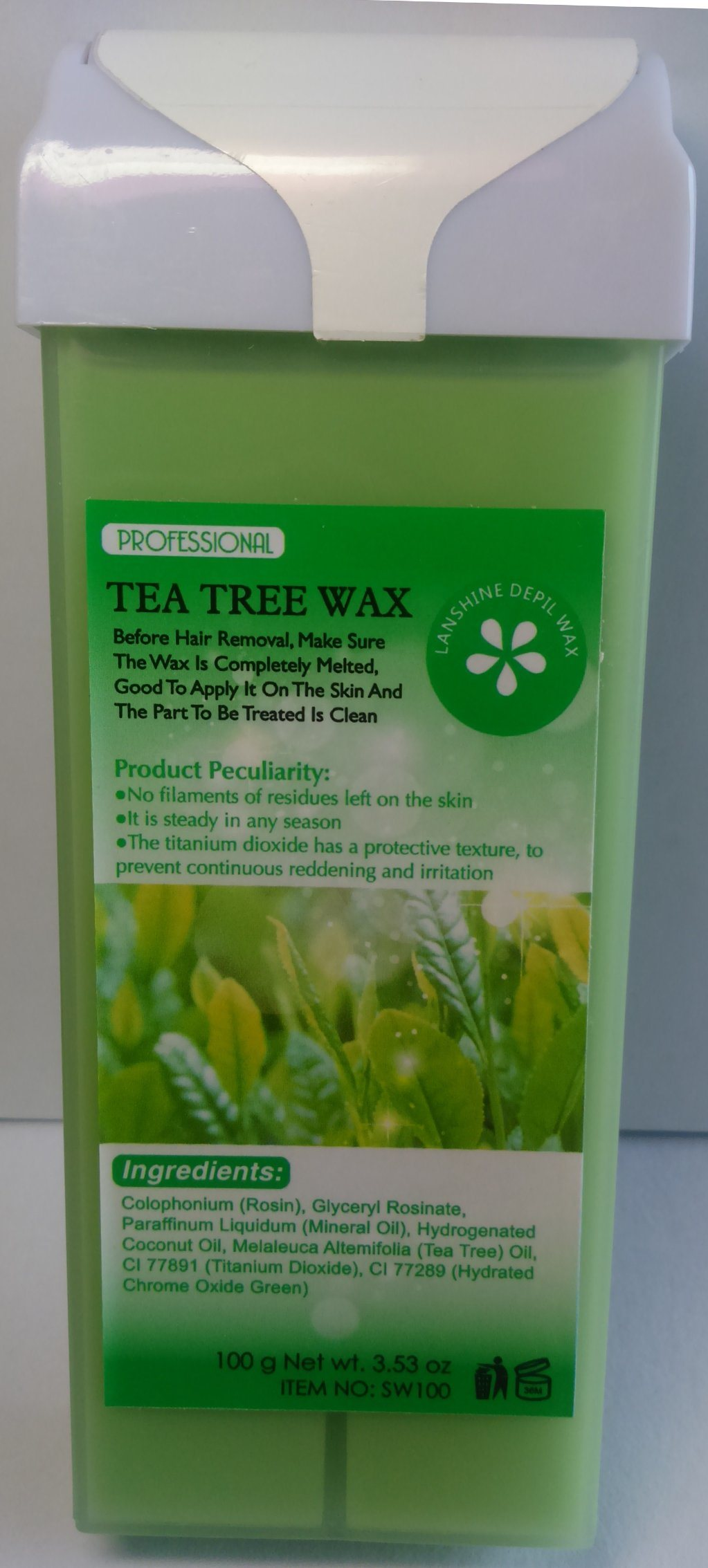 Roll-on Depilatory Wax Tea Tree Creme Wax