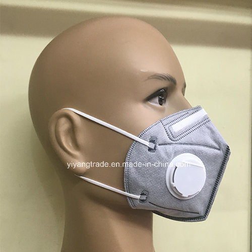 Active Disposable Carbon With N95 Ffp2 Item Respirator hot Valve Dust