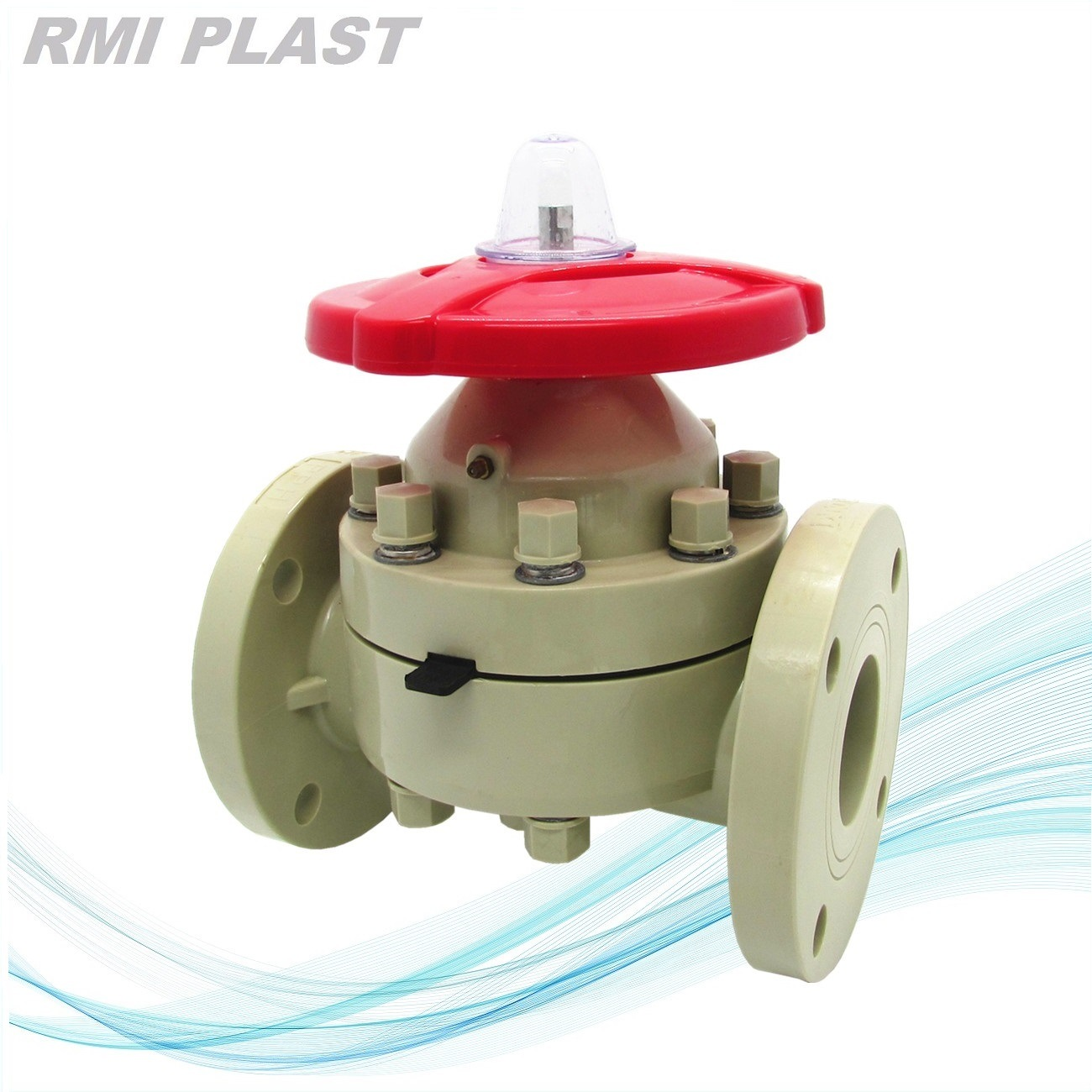 PVC Valve/Diaphragm Valve/Industrial Valve pictures & photos