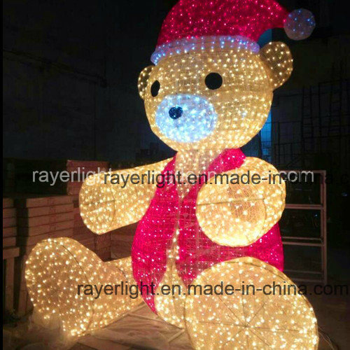 4m LED Teddy Bear Large Outdoor Christmas Decoration Lights