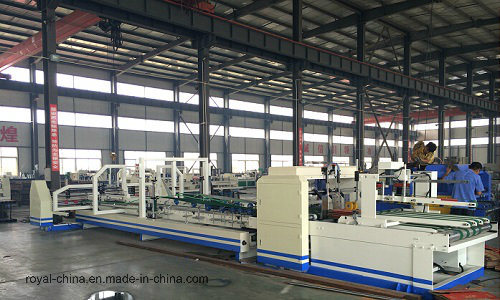 Automatic Folder Gluer & Strapping Machine with ISO9001 High Quality and Manufacturer pictures & photos