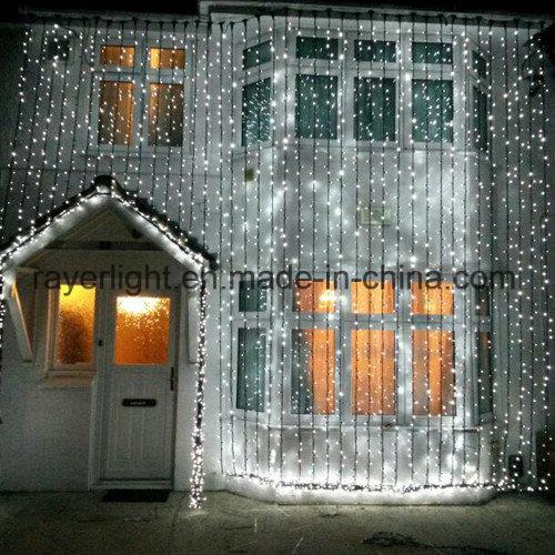 Waterproof LED Curtain Light Outdoor Decoration Christmas Lights