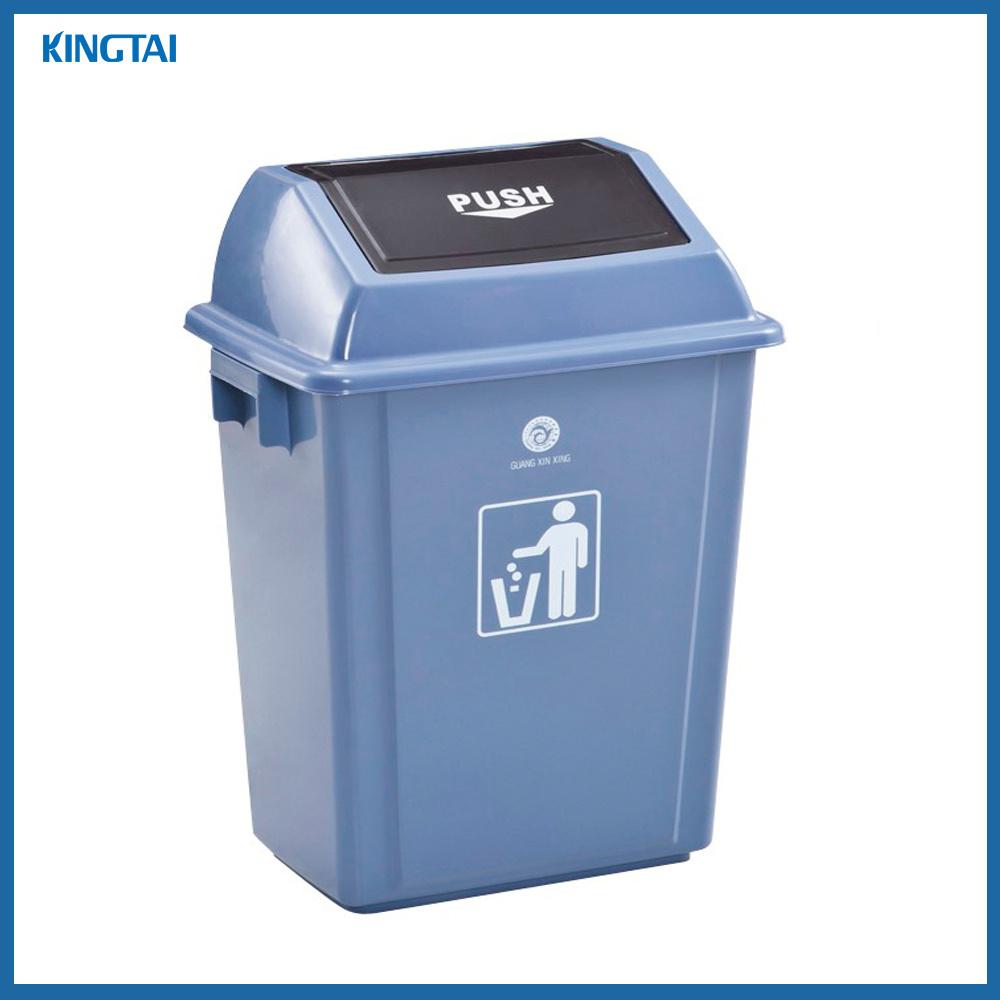 Standing Garbage Bin Recycle Bin Kitchen Bins With Push Lid