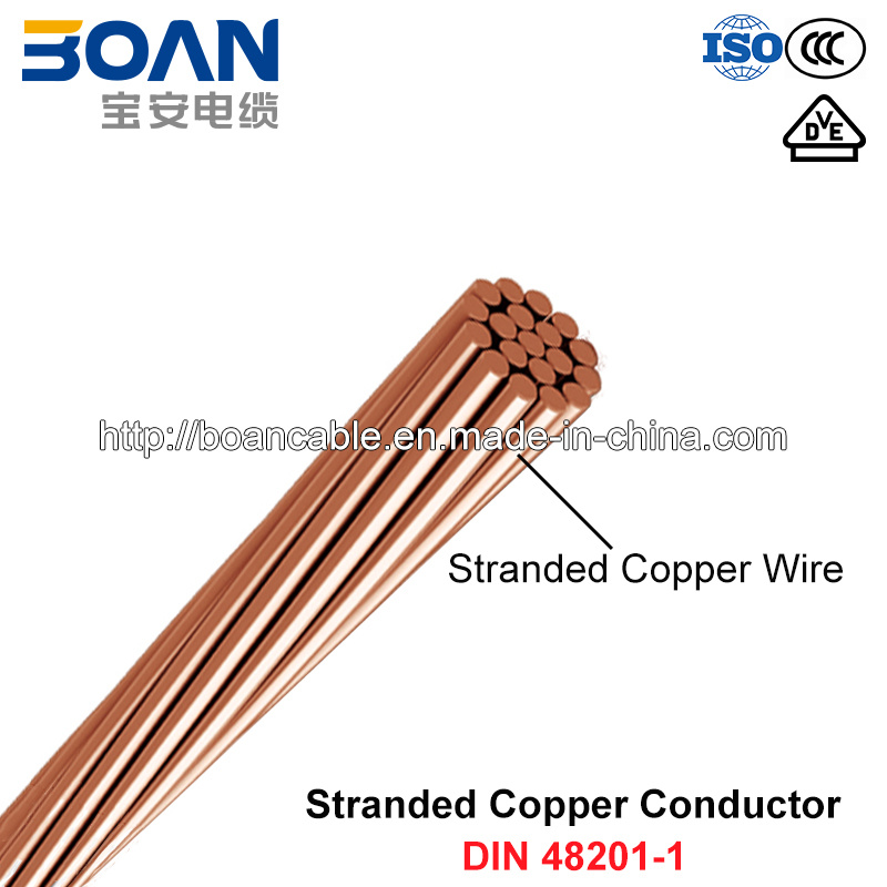 China Hdbc, Stranded Bare Copper Conductor (DIN 48201-1) - China ...
