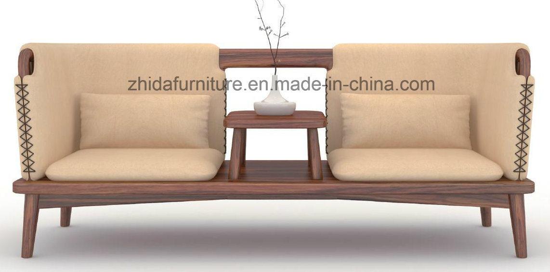 Hot Solid Wood Sofa Set S6073