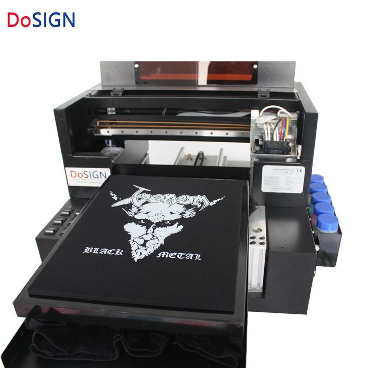 China Best DTG Inkjet Printer T-Shirt Printing Machine A3