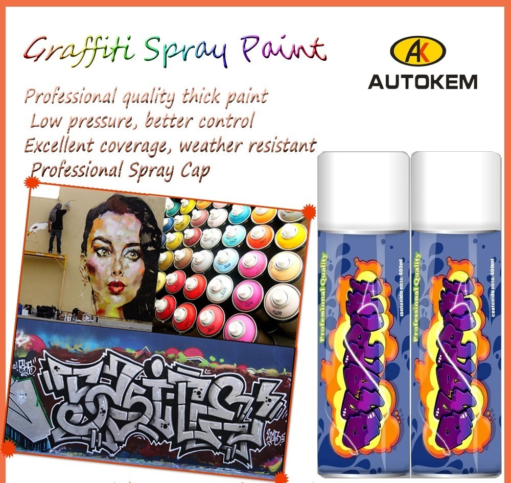 Graffiti Spray Paint, Aerosol Spray Paint, Artist Paint, Acrylic Spray Paint