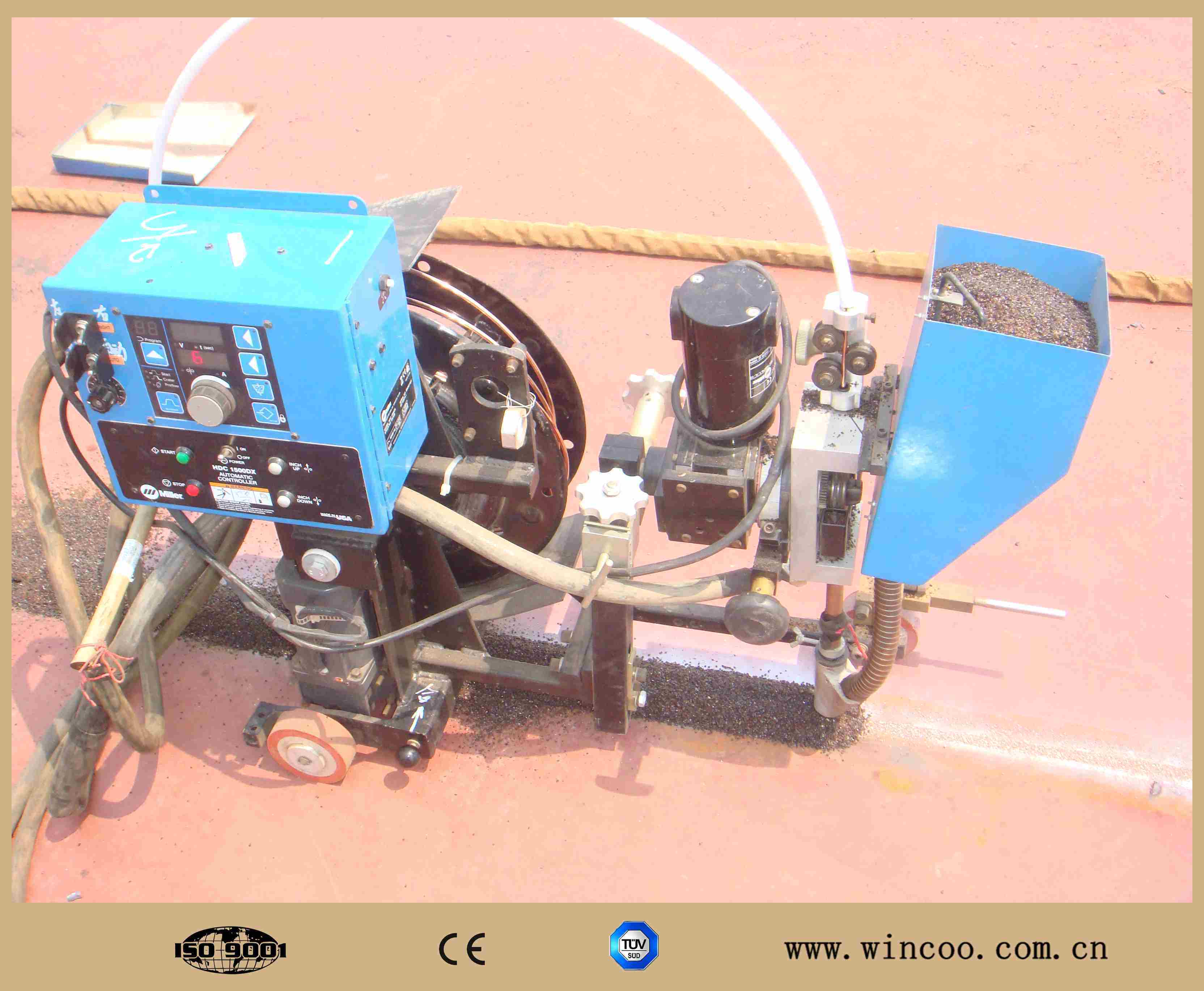 Tank Bottom Pate Welding Machine/ Automatic Welding Machine pictures & photos